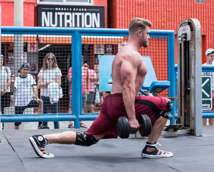 Entrainement de musculation jambes