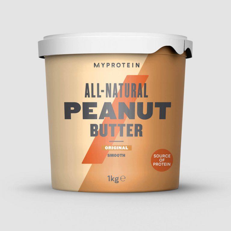 myprotein beurre de cacahuète