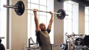 exercice de musculation Développé militaire