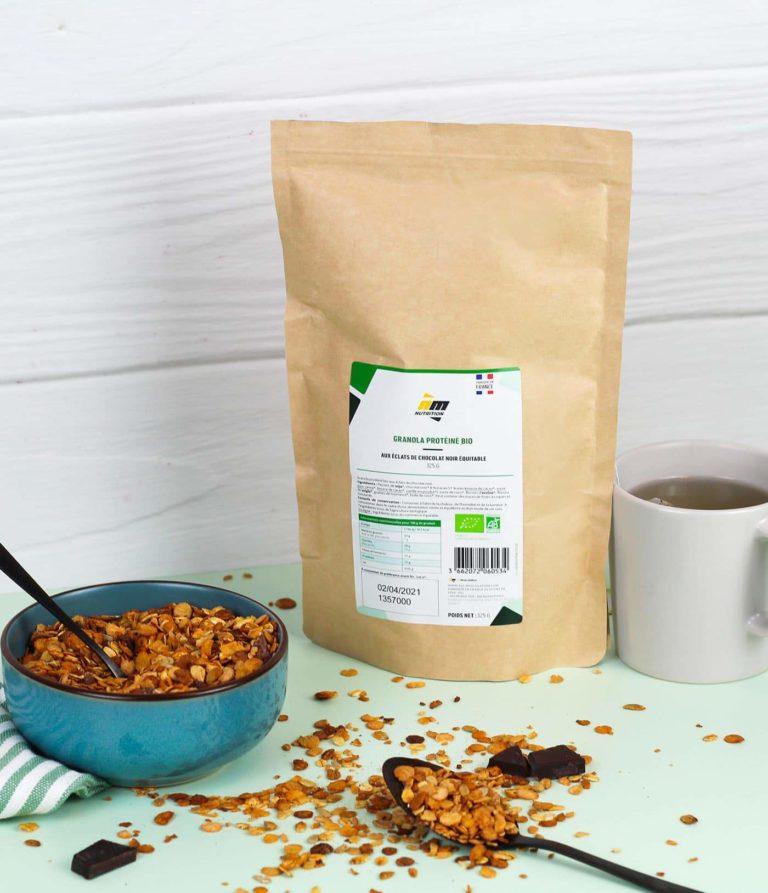 Granola protéiné AM Nutrition